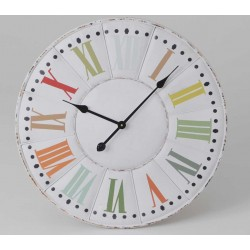 Zegar z Kolorowymi Cyframi