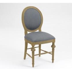 Krzesło Tapicerowane w Stylu Prowansalskim Livio