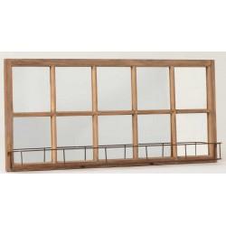 Lustro Okno z Półeczką