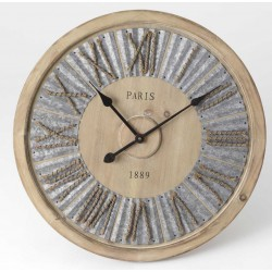 Zegar Drewniany z Linami A