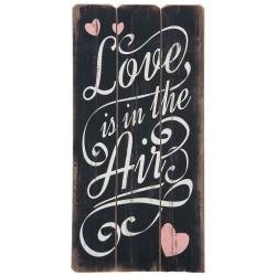 Obraz Retro z Napisami Love