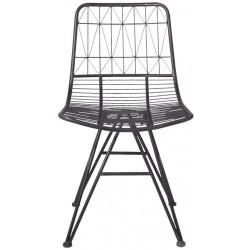 Krzesło Skandynawskie Metalowe B Clayre & Eef