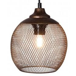 Lampa z Metalowej Siatki