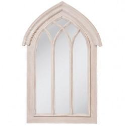 Lustro Prowansalskie Okno Beżowe