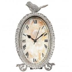 Zegarek Stołowy Prowansalski z Ptaszkiem