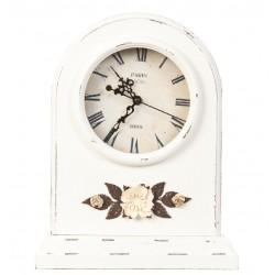 Zegarek Stołowy Prowansalski z Kwiatkami