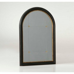 Lustro Okno Czarno-Złote