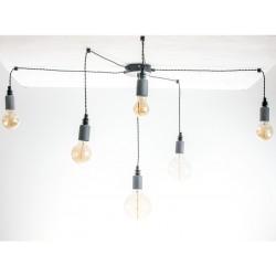 Lampa Pająk Beton 6