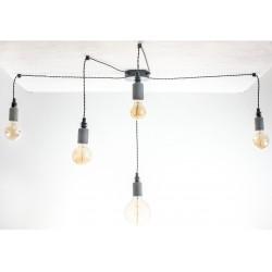 Lampa Pająk Beton 5