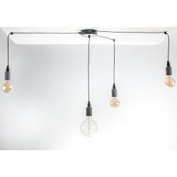 Lampa Pająk Beton 4