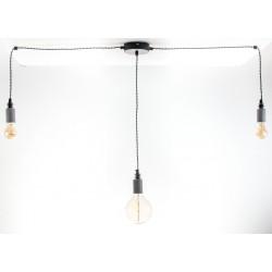 Lampa Pająk Beton 3