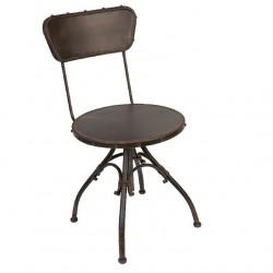 Krzesło Industrialne Metalowe