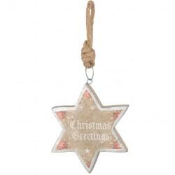 Zawieszka Świąteczna Gwiazda A