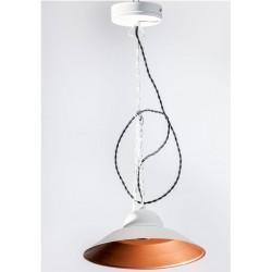 Lampa Loft Miedziano-Czarna