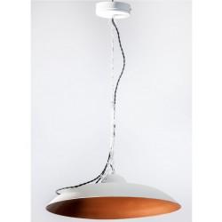 Lampa Loft Metalowa Czarno-Miedziana