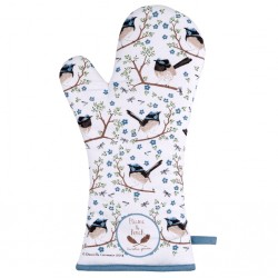 Rękawica Kuchenna z Ptaszkami