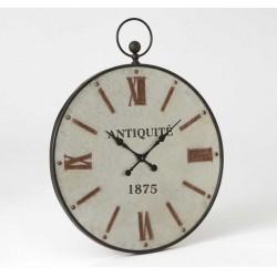 Duży Zegar Metalowy Francuski