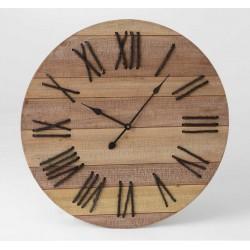 Zegar Drewniany z Linami B
