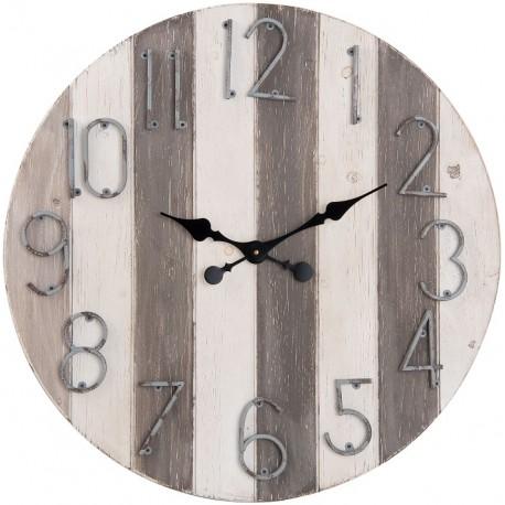 Stylowe zegary retro pozwalają abyśmy patrząc na nie, zatrzymali się choć na chwilę. Postarzany design ma w sobie to coś co oniemiela nas na każdym kroku.