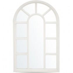Lustro Prowansalskie Okno Białe B