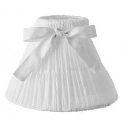Biały Abażur Schabby Chic A