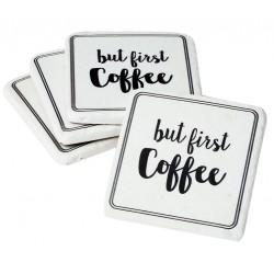 Podkładki Pod Kubek Retro Coffee 4szt. A