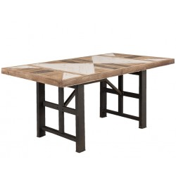 Stół Etno Na Metalowych Nogach