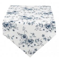 Bieżnik Stołowy Prowansalski w Niebieskie Kwiaty A