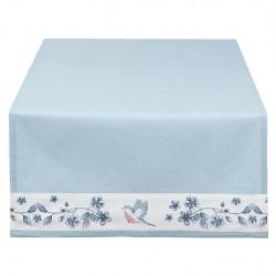Bieżnik Stołowy Prowansalski w Niebieskie Kwiaty B