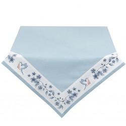 Obrus Prowansalski w Niebieskie Kwiaty
