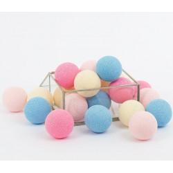 Cotton Balls Kolorowe 20 kul