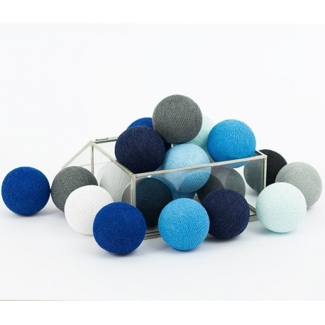 Cotton Balls Czarno-Białe 35 kul