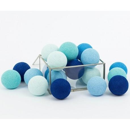 Cotton Balls Blackness Blue 50 kul