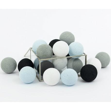 Cotton Balls Fioletowe 10 kul