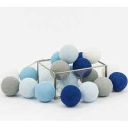 Cotton Balls Blue Marine 10 kul