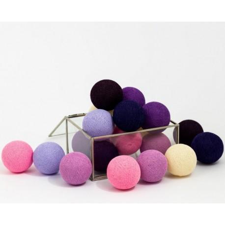 Cotton Balls Ciemne 20 kul