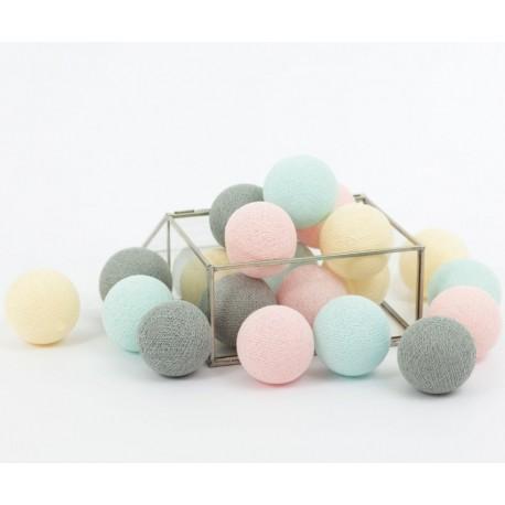 Cotton Balls Dark Berry 10 kul
