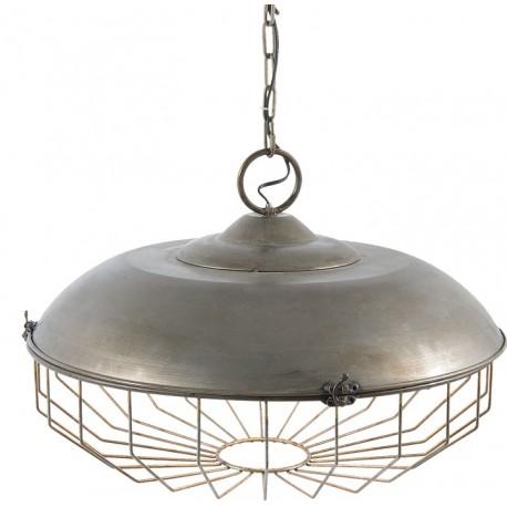 Lampa Industrialna Metalowa Wiszaca Lawendowy Kredens