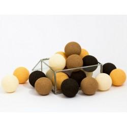 Cotton Balls Czekoladowe 50 kul