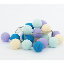 Cotton Balls Lawendowe 10 kul