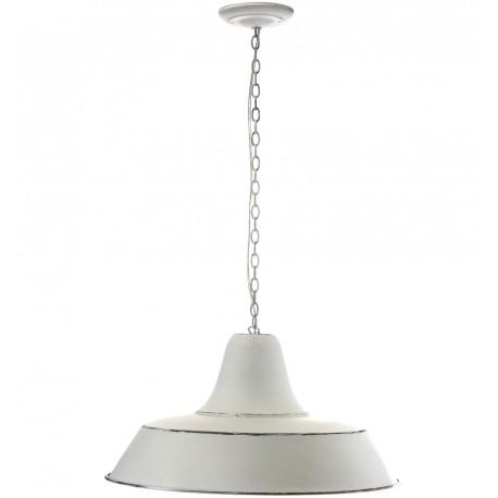 Metalowa, postarzana i zapewniające optymalne światło lampa w stylu skandynawskim.