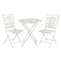 Meble Ogrodowe Prowanalskie Stolik z Krzesłami 9