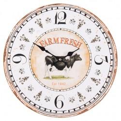 Zegarek Prowansalski w Kształcie Budzika Czarny