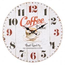 Zegar Ścienny Coffe Time