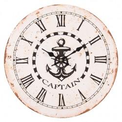 Zegar Marynistyczny z Kotwicą