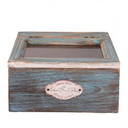 Drewniane Pudełko Prowansalskie A