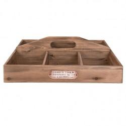 Drewniane Pudełko Prowansalskie Na Chusteczki