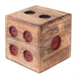 Drewniana Taca Prowansalska z Przegródkami