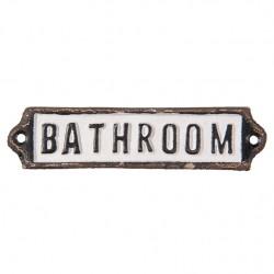 Tabliczka Na Drzwi Bathroom