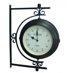 Zegar Dwustronny Metalowy